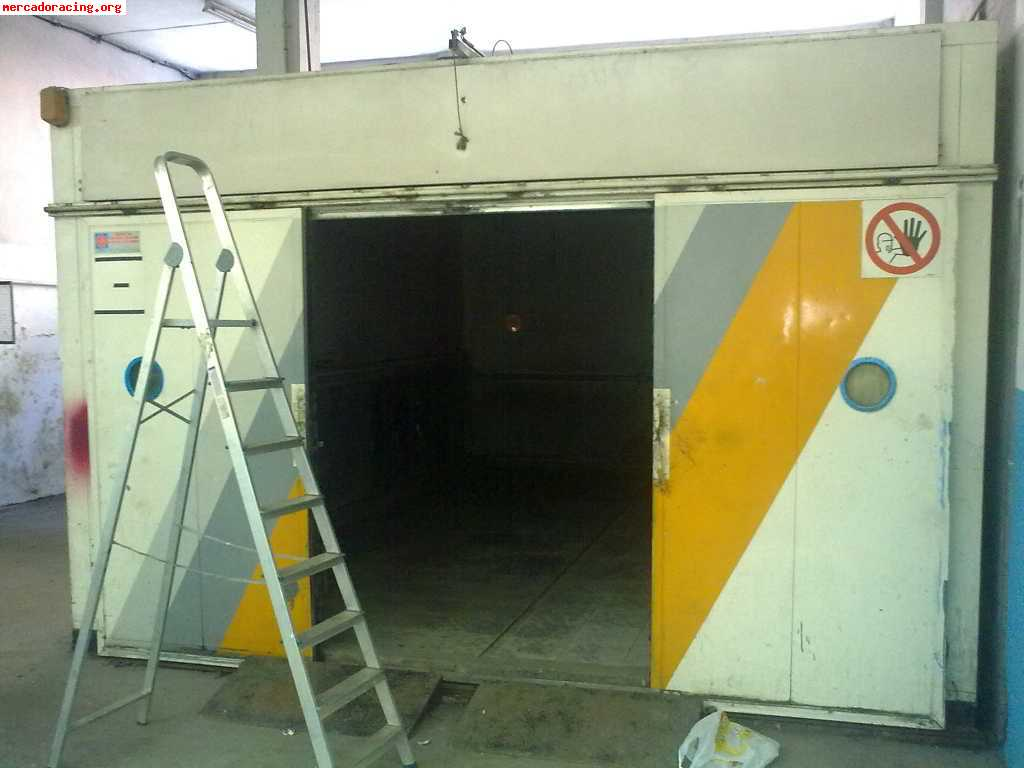 Se vende cabina de pintura venta de elementos de carrocer a for Cabina de pintura portatil