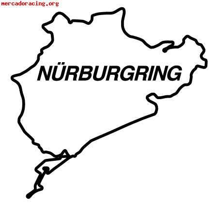 pegatinas de circuitos nurburgring jarama 3 y 5 e. Black Bedroom Furniture Sets. Home Design Ideas