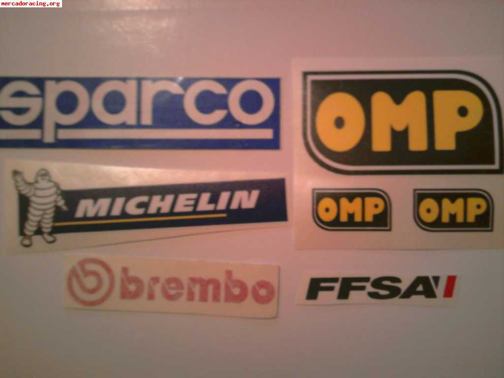 Vendo todo tipo de pegatinas racing para coche moto quad - Pegatinas de pared baratas ...