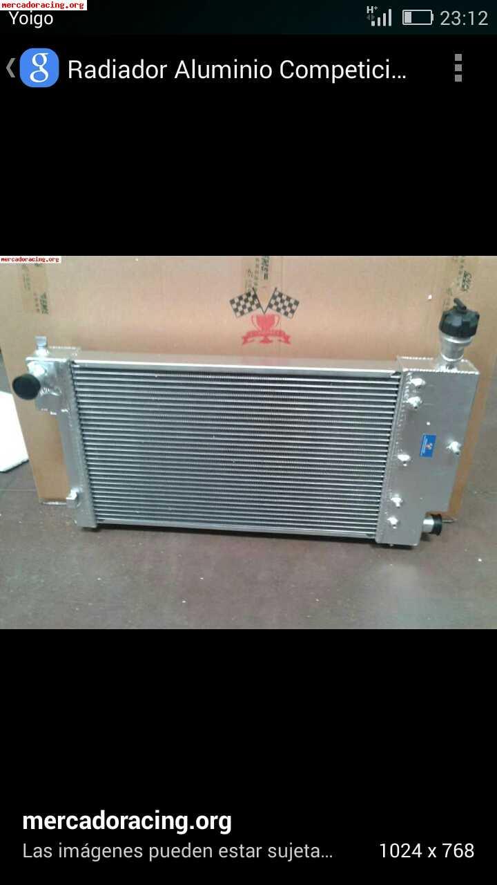 Vendo radiador aluminio saxo venta de elementos de - Precio radiador aluminio ...